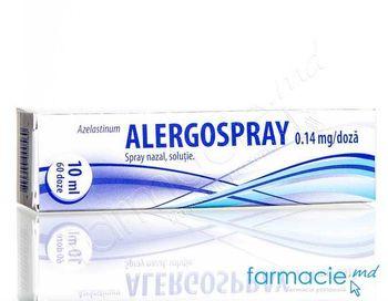 купить Alergospray spray naz. 0,14 mg/doza 10ml (60 doze) N1 в Кишинёве