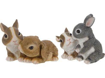 Пара зайцев декоративных