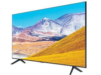 "75"" TV Samsung UE75TU8000UXUA, Black (SMART TV)"