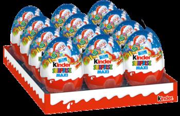 купить Kinder Surprise шоколадное яйцо, 100г в Кишинёве