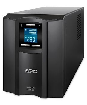 APC Smart-UPS C 1500VA /900 Watts, LCD status console, Input/Output 230V, Interface Port USB, Line Interactive