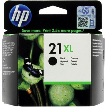 HP No.21XL Black Ink Cartridge, 475pages