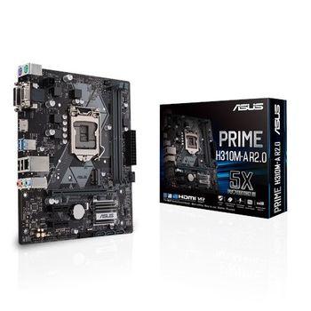 MB Asus PRIME H310M-R R2.0 mATX //  CPU
