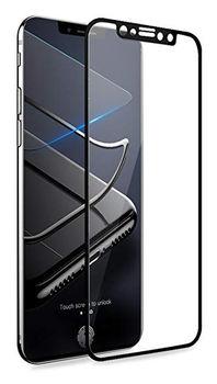 Защитное стекло Cover'X для iPhone X/XS 3D Zero Frame Black