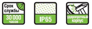купить LED (12W) NBL-PR1-12-4K-BL-IP65-LED (аналог НПБ 1101/НПП 110 в Кишинёве