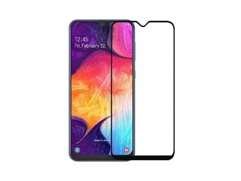 Защитное стекло Cover'X для Samsung A50 (all glue )