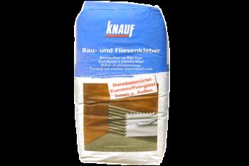 Клей морозостойкий на цементной основе Knauf Fliesenkleber-BauUnd 25 kг