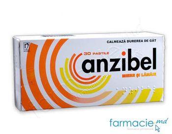cumpără Anzibel miere si lamaie pastile 5 mg + 4 mg + 3 mg N10x3 în Chișinău