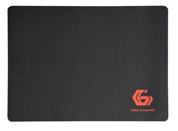 Gembird Mouse pad MP-GAME-M, Gaming, Dimensions: 250 x 350 x 3 mm, Material: natural rubber foam + fabric, Black
