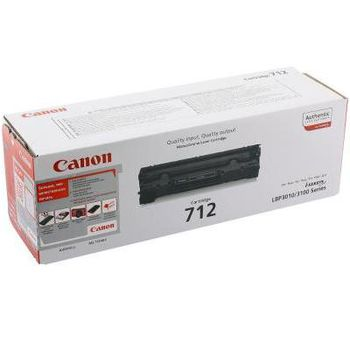 Cartridge Canon 712 (CB435A) Black, for LBP3010/3100, HP LJ P, 1500pages