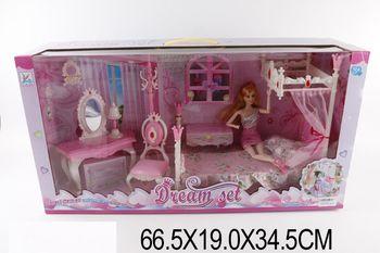 купить Кукла с набором мебели в Кишинёве