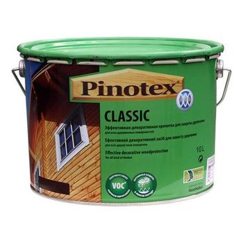 Pinotex Пропитка Pinotex Classic Махагон 10л