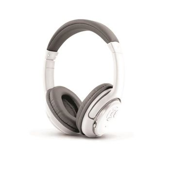 """Esperanza EH163W """"LIBERO"""" White, Wireless Bluetooth Stereo Headphones, Bluetooth 3.0, with Microphone, Bluetooth technology up to 10m, call pick up button, volume control, Built-in Li-ion battery for 4 hours lifetime, rechargeable by USB"""