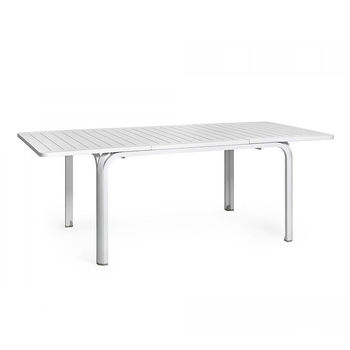 Стол раздвижной Nardi ALLORO 140 EXTENSIBLE BIANCO vern. bianco 42753.00.000 (Стол раздвижной для сада и террасы)