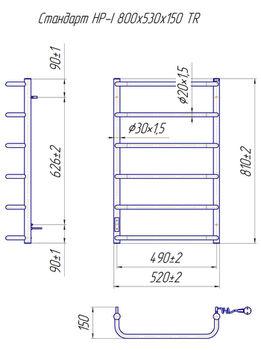 Стандарт HP -I 800x530 TR таймер-регулятор