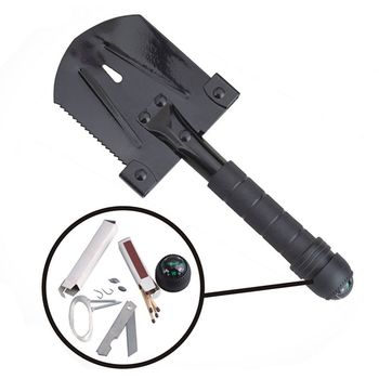 купить Лопата AceCamp Survivor Multi-tool Shovel, 2586 в Кишинёве