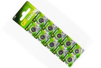 купить Батарейка GP 1.5V Alkaline Ø11.6х3.05mm 189F-2C10(AG10) в Кишинёве