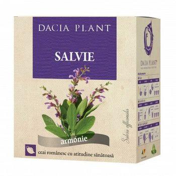 cumpără Ceai Dacia Plant Salvie Frunza 50g în Chișinău