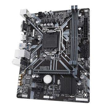 Placa de baza Gigabyte H310M H Intel H310, LGA1151, Dual DDR4 2666MHz, PCI-E 3.0/2.0 x16, HDMI/D-Sub, 2xUSB 3.1, SATA 6Gb/s, 8-Ch HD Audio, Gigabit LAN