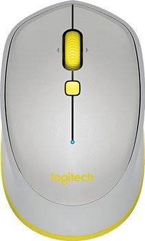Logitech Bluetooth Mouse M535 Grey, Optical Mouse, Compatible with Mac®, ОS Windows® и Chrome OS™, Android™, Grey
