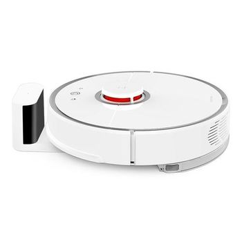"""XIAOMI """"Roborock Mi Robot Vacuum 2"""" EU, White, Robot Vacuum, Mopping, Suction 2000pa, Sweep, Remote Control, Self Charging, Dust Box Capacity: 0.50L, Battery: 5200mAh, Working Time: 2.5h, Maximum area about 250 m2, Water Tank, Barrier height 2cm"""