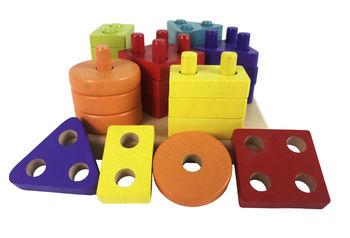 купить Cubika игрушка Сортер Геометрические фигуры в Кишинёве