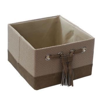 купить Коробка 260x260x170 мм, бежевый в Кишинёве