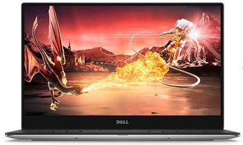 "DELL XPS 13 Aluminium/Carbon Ultrabook (9370) Silver, 13.3"" FullHD (Intel® Core™ i5-8250U up to 3.40GHz , 8GB DDR3 RAM, 256GB SSD, Intel® UHD Graphics 620, CardReader, WiFi-AC/BT, TB3, 4cell, HD720p Webcam, Backlit KB, RU, Win10 Pro, 9-15mm,1.2kg)"