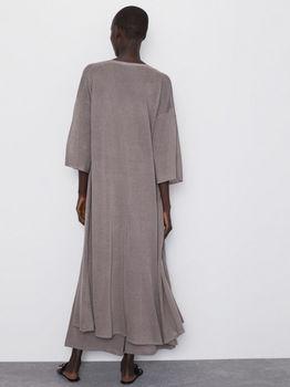 Платье ZARA Бежевый  2142/111/706