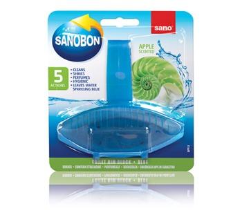 купить Sano Bon Apple Подвеска для унитаза (55 г) 426971 в Кишинёве