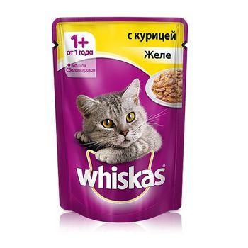 купить Whiskas желе с курицой в Кишинёве