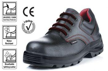 купить Ботинки рабочие SGS чёрные с красной строчкой в Кишинёве