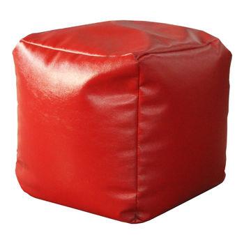 купить Пуфик куб Cub, красный в Кишинёве