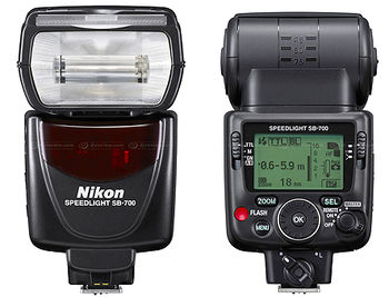 Nikon Speedlight SB-700, I-TTL; Guide Number 28/92 (ISO 100, m), 39/128 (ISO 200, m) external flash, FSA03901 (Blitz / Вспышка, вспышки)
