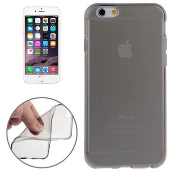 Чехол прозрачный для iPhone 6 серый
