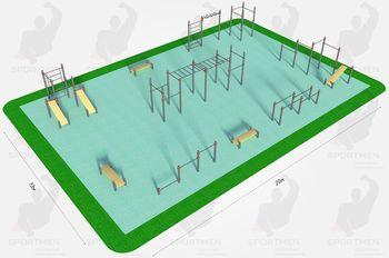 Спортивная площадка K-6