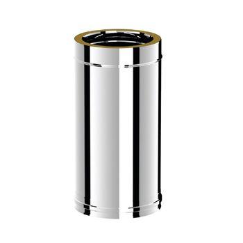 Ø150-200 Труба дымоходная  500 mm утепленная (304-304)