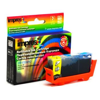 купить Impreso IMP-DS-CC521C Cyan Refillable Canon в Кишинёве