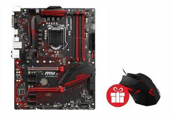 MSI H370 GAMING PLUS, Socket 1151, Intel® H370 (8th Gen CPU), Dual 4xDDR4-2666, 2xPCIe X16, CPU Intel graphics, DVI, DP, 5xSATA3, RAID, 1xM.2 slot, 4xPCIe X1, ALC892 7.1ch HDA, GbE LAN, 2xUSB3.1 Gen 2 (Type-C & Type-A), 6xUSB3.1, Mystic Light, ATX