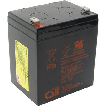 CSB Battery 12V 5AH, HR 1221 F2, 3-5 Years Life Time