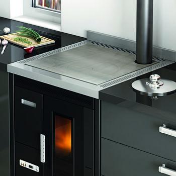 Печь пеллетная - NINA 7,5 кВт (встроенная версия)