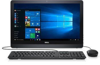"купить AIl-in-One PC - 23,8"" DELL Inspiron 3464 FHD IPS, Intel® Core® i3-7100U (Dual Core, 2.40GHz, 3MB), 4Gb DDR4 RAM, 1TB HDD, DVD-RW, Intel® HD Graphics 620, HD Webcam, Wi-Fi-AC/BT4.0, KM636 Wireless KB&MS, Ubuntu, Black в Кишинёве"