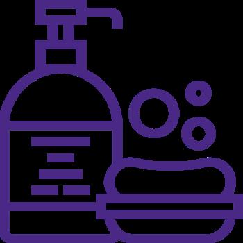 Geluri de duș și săpunuri