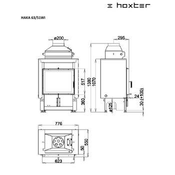 cumpără Focar HOXTER HAKA 63/51W(63/51WI) în Chișinău
