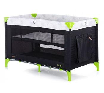Кроватка-манеж Chipolino Ariel Onyx