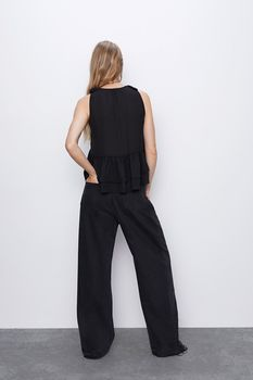 Блуза ZARA Чёрный 1971/161/800