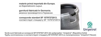 купить Труба ПП ф.110  L=4.0m /2.2 Uniplast - NU SE PRODUCE в Кишинёве
