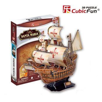 купить CubicFun пазл 3D Santa Maria schooner в Кишинёве