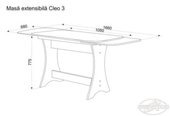 Стол Cleo-3