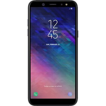 "Samsung Galaxy A6 (2018) 32GB EU Black, DualSIM, 5.6"" 720x1480 Super AMOLED, Exynos 7870 Octa, Octa-Core 1.6GHz, 3GB RAM, Mali-T830 MP1, microSD (dedicated slot), 16MP/16MP, LED flash, 3000mAh, WiFi-N/BT4.2, LTE, Android 8.0"